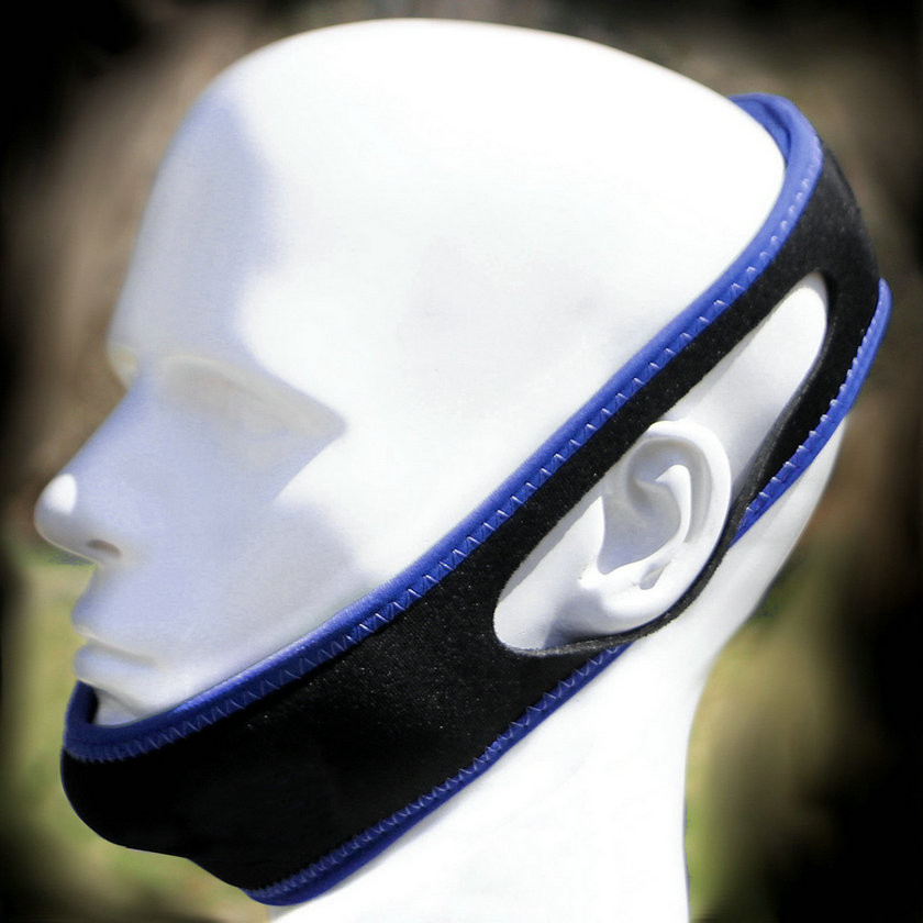 Anti Snore Chin Strap on Head