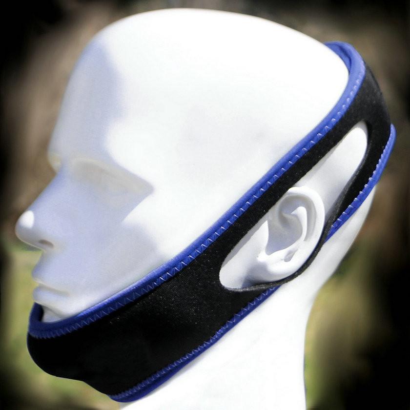 Anti Snore Chin Strap on Head